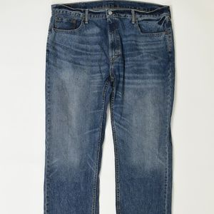 Levis Jeans Big & Tall Blue 40x 30 559 Cotton So